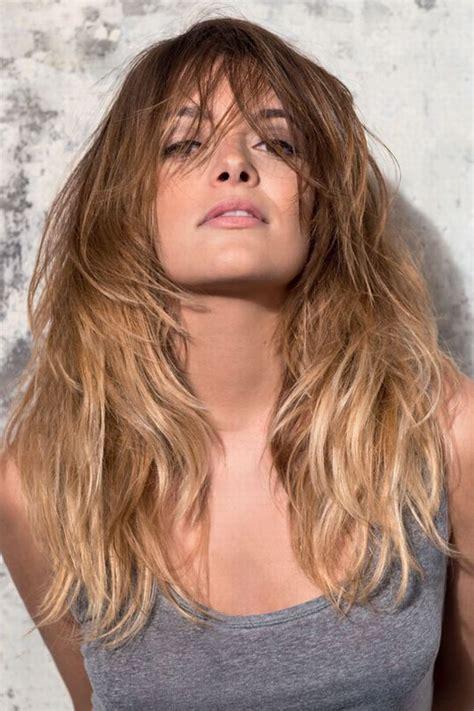 Trend Frisuren 2016 Stufenschnitt Lange Haare