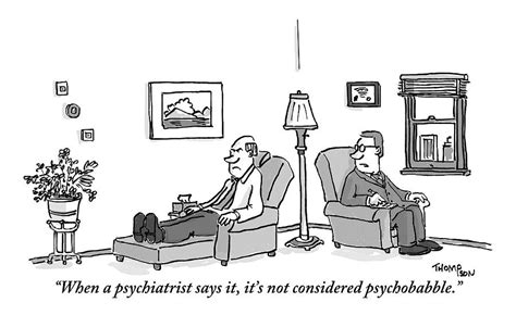A Psychiatrist To His Patient Who Lies On A Couch By Mark