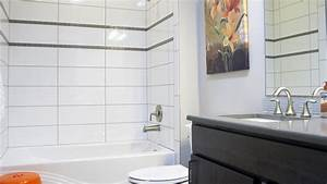 white tile gray grout bath home design ideas new ideas With popular materials of white tile bathroom