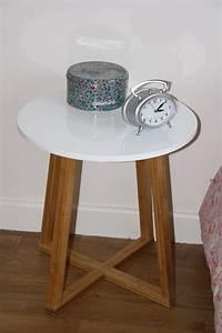 Casa Table De Chevet : table de nuit scandinave bricolage maison et d coration ~ Teatrodelosmanantiales.com Idées de Décoration