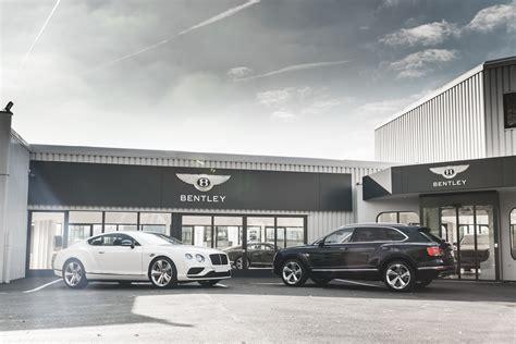bentley showroom bentley opens new showroom in switzerland in time for