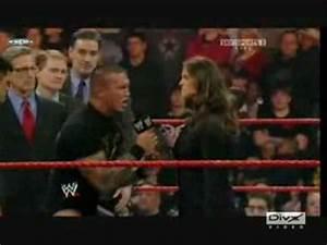 Randy Orton & Stephanie McMahon-Unintended - YouTube