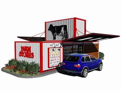 Farm Stores Rendering Drive Thru Convenience Own