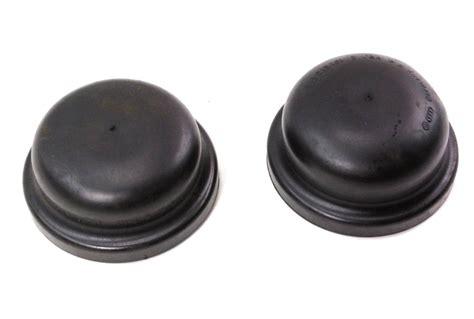 rear strut spring suspension rubber cover cap   vw