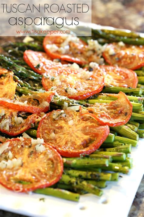 healthy easy dinner recipes tuscan roasted asparagus it