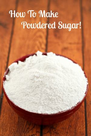 how to make frosting with powdered sugar how to make powdered sugar sugaring and store