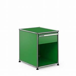 Nachttisch Mit Schublade : usm haller nachttisch mit schublade konfigurierbar 14 farben ~ Frokenaadalensverden.com Haus und Dekorationen