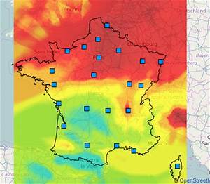 Carte France Pollution : carte de la pollution de l air en france que fait le gouvernement thierry jaccaud ~ Medecine-chirurgie-esthetiques.com Avis de Voitures