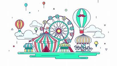 Park Amusement Transparent Clipart Hq Coaster Clip