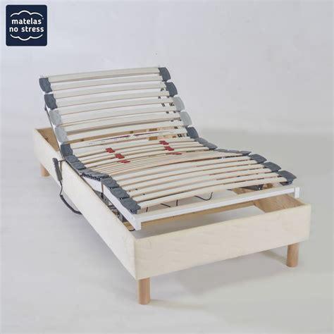 Sommier De Relaxation Lit Electrique En 90x200 Matelas