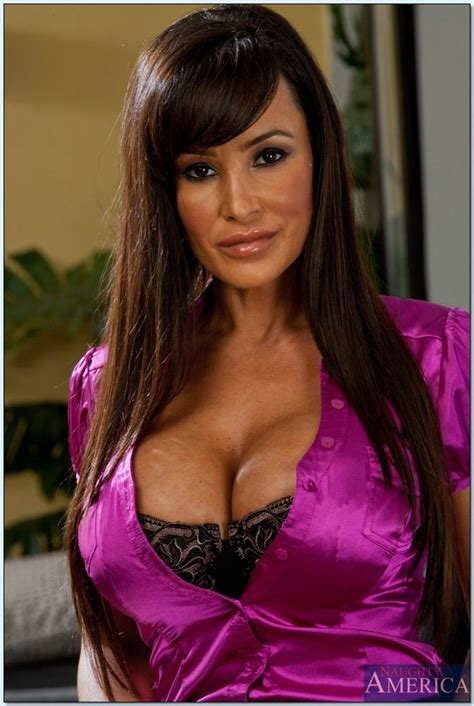 Lisa Ann Takes Off Her Purple Top And Rides A Black Cock