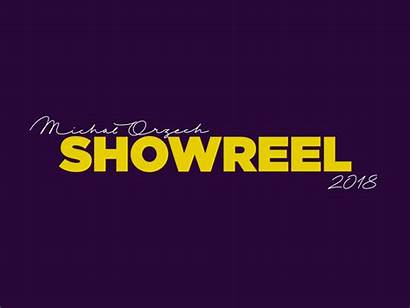 Showreel Title Sequence Reel Dribbble Text Letters