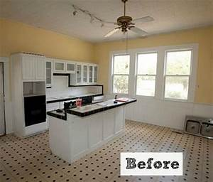 Before & After: Kim Creates a New Vintage Kitchen in Texas