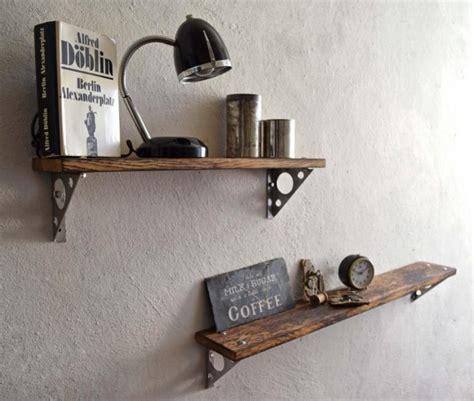 Wandregal Küche Vintage by Wandregal Loft Vintage Eiche Wandboard Regal