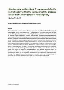 Social Media Proposal Pdf Pdf Historiography By Objectives A New Approach For The