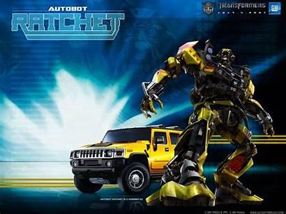 Transformers Desktop Wallpapers Ratchet Looking Fotos Los
