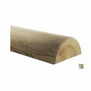 Bois Autoclave Classe 4 : demi rondin bois frais pin autoclave classe 4 d 80mm 3m ~ Premium-room.com Idées de Décoration