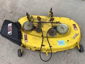 John Deere 42 U0026quot  Lawn Tractor Mower Deck
