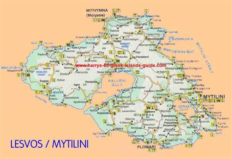 isle of cuisine large lesvos maps for free and print high