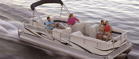 Fishing Pontoon Boat Brands by Pontoon Boats Buyers Guide Discover Boating