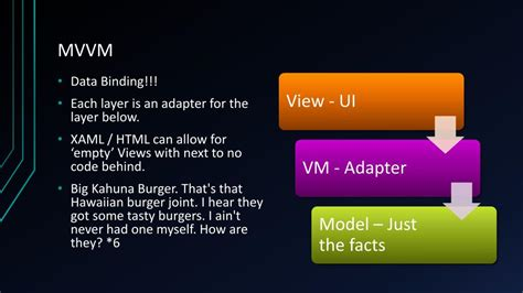 It, too, adjusted so that it fit perfectly. PPT - MVC vs MVP vs MVVM PowerPoint Presentation, free download - ID:2080007