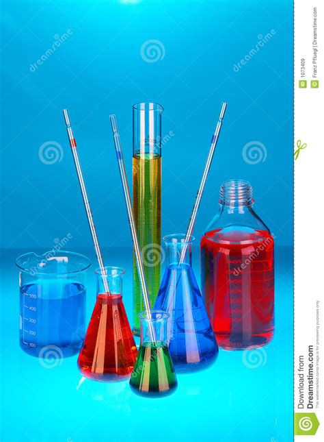 Chemical Solutions Royalty Free Stock Images - Image: 1073409