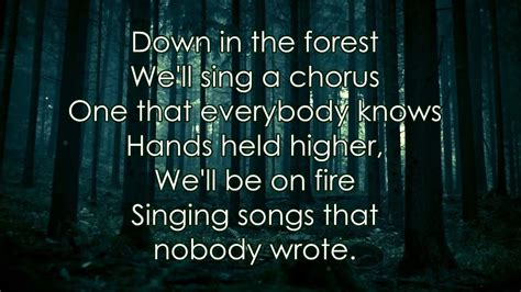 Twenty One Pilots Forest Lyrics Chords