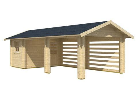garage mit abstellraum carport garage abstellraum 70mm sams gartenhaus shop