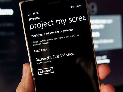 mirror your windows phone to the big screen with the low cost tv stick windows central