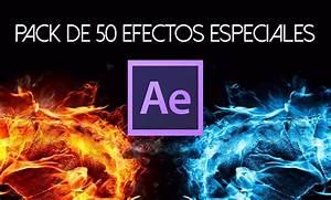 Pack 50 efectos especiales para Adobe After Effects