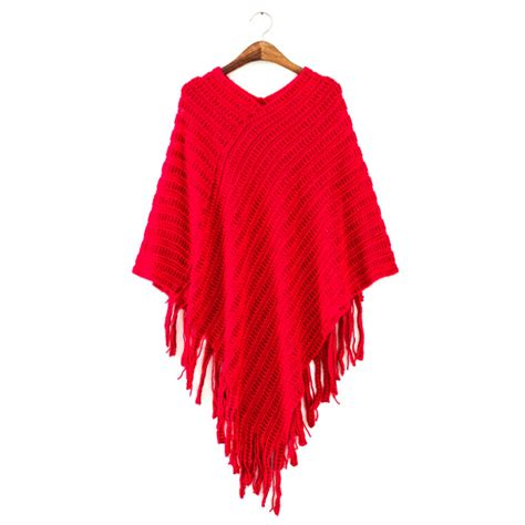 s cape sweater v neck top 39 s poncho batwing cape tassel knitted