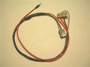 1964 Chevelle Convertible Power Top Switch Wiring Harness