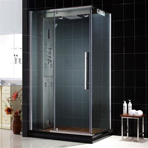 Corner Showers Kits by Dreamline Jetted Steam Shower Enclosure Majestic Jetted