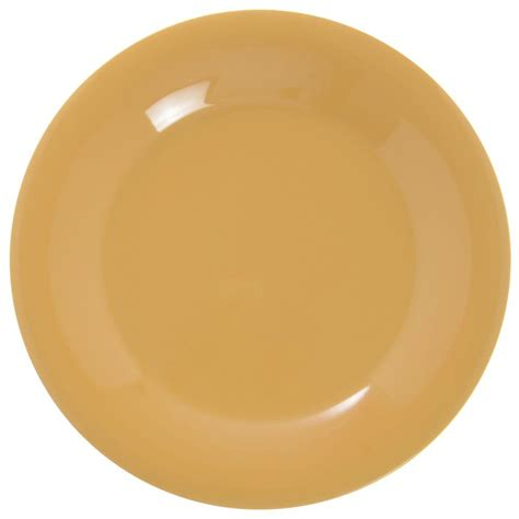 diamond mardi gras tropical yellow melamine dinner plate