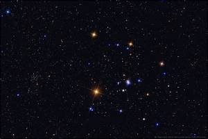 V-shaped Hyades star cluster easy to find | Clusters ...