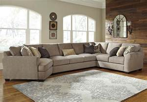 Left Cuddler Sectional Sofa by Benchcraft Pantomine 4 Piece Sectional With Left Cuddler