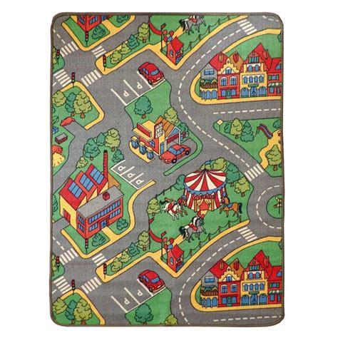 alfombra infantil parque de tr 225 fico 100x140 cm alfombras