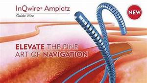 Merit Introduces Inqwire U00ae Amplatz Diagnostic Guide Wire