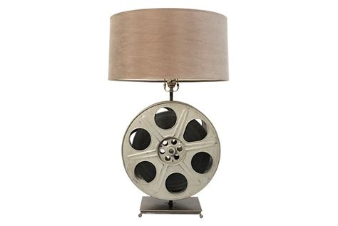 Spinning Film Reel Table Lamp Now Toronto Magazine Think Free