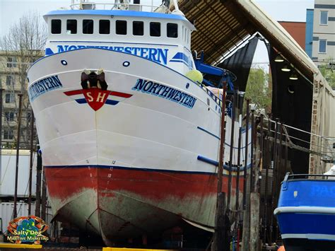 The Destination Crab Boat Captain by Deadliest Catch F V Destination F V Northwestern Wizard