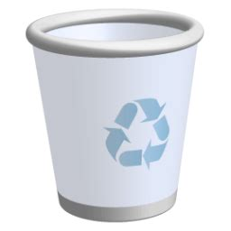 recycle bin icon  ravenna  icons iconspedia