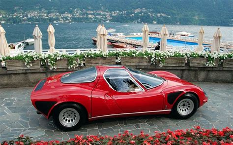 Alfa Romeo 33 Stradale For Sale by Revisiting The 1967 Alfa Romeo Tipo 33 Stradale