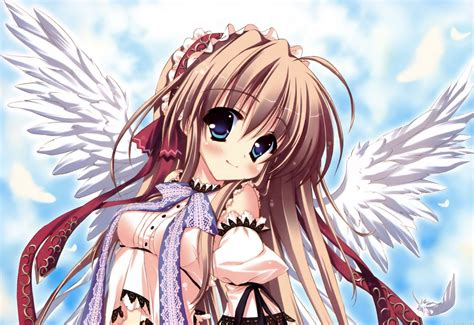 anime angel wallpapers backgrounds