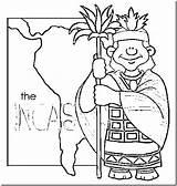 Coloring Pages Inca Diversity Cultural Empire Picchu Machu Incas Printable Colouring Colorear Template Getdrawings Con sketch template