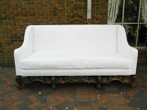 canapé italien sofa 19th century renaissance revival canape or sofa