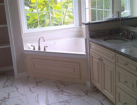 alpharetta ga master bathroom remodel transitional