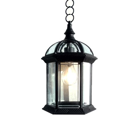 gorgeous black finished outdoor hanging light fixtures