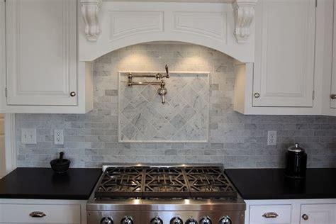 carrara marble kitchen backsplash bianco carrara marble backsplash kitchen ideas