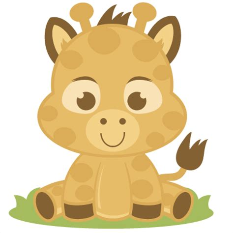 Baby Giraffe Svg Cutting Files Giraffe Svg Cut File Baby