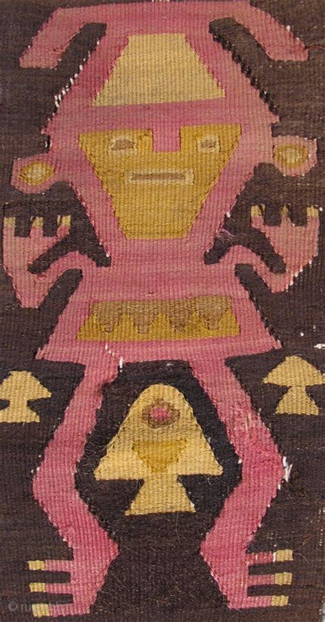 pre columbian sash  human figures complete
